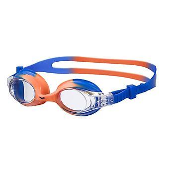 Arena X-Lite barn simma goggle - klar lins - blå/Orange