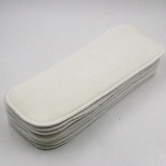 4 Layers Organic Hemp Insert Reusable Cloth Diaper For Baby Nappies