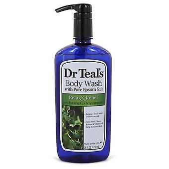 Dr Teal's Body Wash With Pure Epsom Salt Body Wash with pure epsom salt with eucalyptus & Spearmint By Dr Teal's 24 oz Body Wash with pure epsom salt with eucalyptus & Spearmint