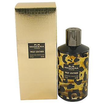 Mancera silvestre cuero Eau De Parfum Spray (Unisex) por Mancera 4 oz Eau De Parfum Spray
