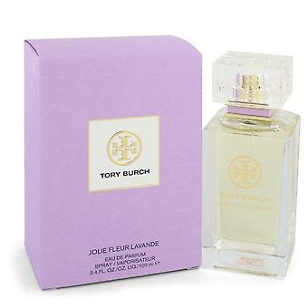 Tory Burch Jolie Fleur Lavande Eau De Parfum Spray Por Tory Burch 3,4 oz Eau De Parfum Spray