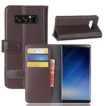 Magnetic Leather CaseSamsung Galaxy Note 8 - Brown