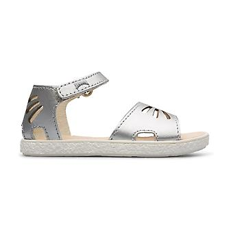 CAMPER Miko Fw Silver Closed Heal Open Teen Sandaal