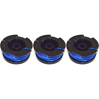 Black & Decker Reflex Strimmer Trimmer Spool & Line Pack of 3