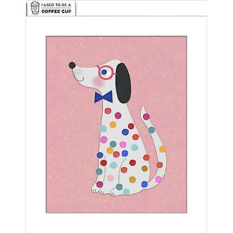 Hallmark I Used To Be A Coffee Cup Card - Spotty Dog