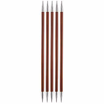 KnitPro Zing: Knitting Pins: Double-Ended: Set of Five: 15cm x 5.50mm