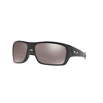 Oakley Turbine OO9263 41 Polished Black/Prizm Black Polarised Sunglasses