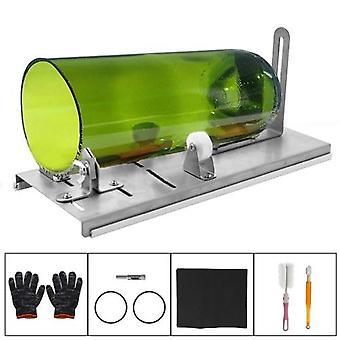 DIY glazen fles cutter verstelbare maten metalen glassbottle cut machine voor het maken van wijnflessen huishoudelijke glas snijden tool