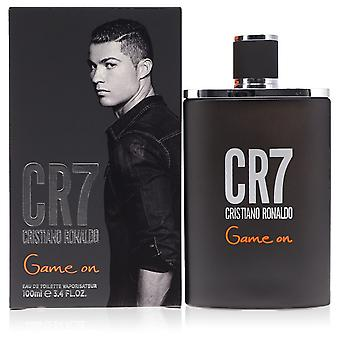 CR7 Game On by Cristiano Ronaldo Eau De Toilette Spray 3.4 oz