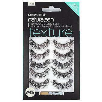 Salon System Naturalash Wispy Strip Lashes - Texture 109 Multipack