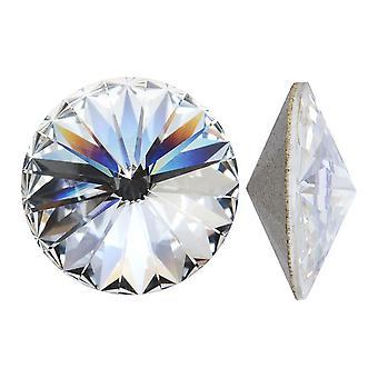 Kryształ Swarovskiego, #1122 Rivoli Fancy Stones 16mm, 2 Sztuki, Kryształowe