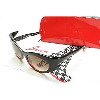 Face a Face Bocca Rock 3 400 Limitovaná edícia slnečných okuliarov Čierny červený acetát Taliansko