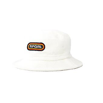Rip Curl Surf Revival Bucket Sun Hat in White