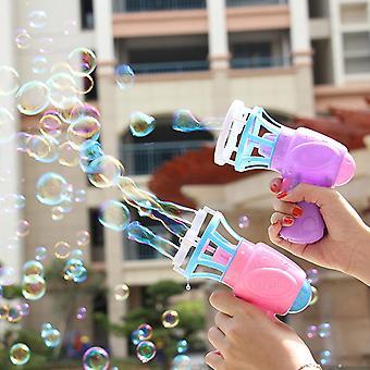 morsom magisk boble blåser maskin elektrisk automatisk boble maker pistol med mini