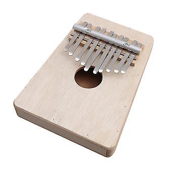 ل171x124x30mm 10 مفاتيح التقليدية كاليمبا مبيرا الإبهام البيانو مع مفتاح الشب WS2164