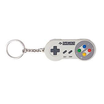 Nintendo - Super Nintendo Controller Schlüsselanhänger - Multi-Colour