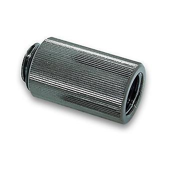 EK vannblokker EK-AF Extender 30mm M-F G1/4 - Svart nikkel