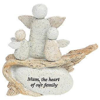 Joe Davies Angel Prydnad -mamma hjärtat av vår familj