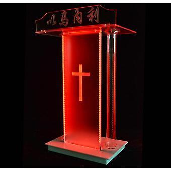 Akryyli Lectern -kirkon koroke