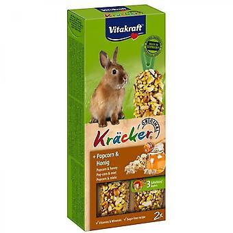Vitakraft Krcker Popcorn And Honey P / 2 - For Dwarf Rabbits