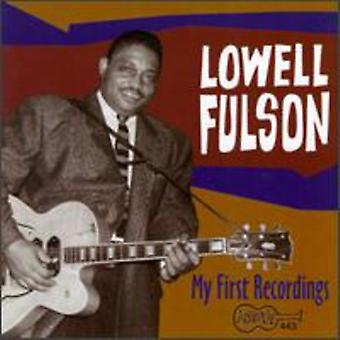 Lowell Fulson - My First Recordings [CD] USA import