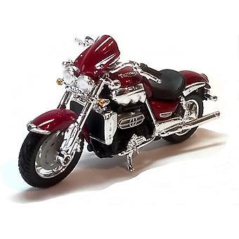 Burago Red Triumph Rocket 111  Motorcycle 1:18