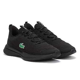 Lacoste Run Spin Mens Black Trainers
