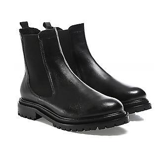 Hudson London Beador Leather Chelsea Boots