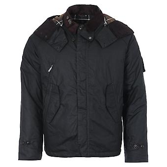 Barbour Gold Standard Pabay Waxed Cotton Jacket - Sage