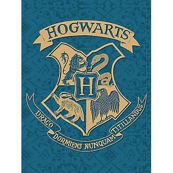 Harry Potter Hogwarts Crest Fleece Blanket