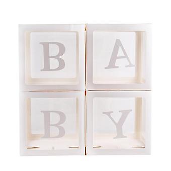 Nimi & Age Box & Baby Shower Decorations