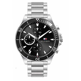 menns klokke Tommy Hilfiger klokker LARSON - 1791916 armbånd stål sølv