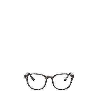 Prada PR 12WV matte grey tortoise male eyeglasses