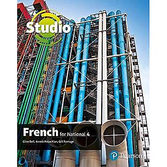 STUDIO FOR NATIONAL 4 FRENCH STUDENT BOO