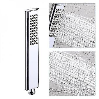 High-end Brass Hand Hold Shower Head Rounded