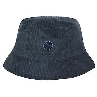 Pretty green navy cord bucket hat