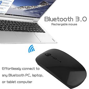 Portable Rechargeable Bluetooth 3.0 Wireless Mouse For Laptop Pc Tablets