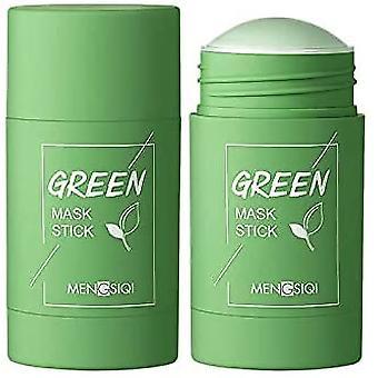 Grüner Tee Reinigende Gesichtsmaske Stick Tiefe Porenrein Verbessern Haut Mitesser Entfernung