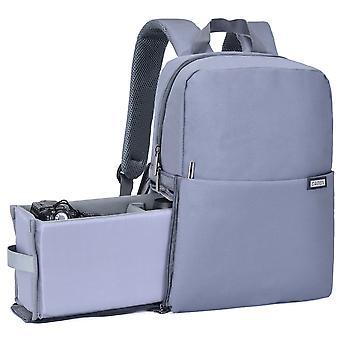 デジタル一眼レフカメラバックパックは、キヤノンニコンソニーカメラレンズラップトップ屋外旅行バッグのためのプロフェッショナルウェア耐性大型バッグ