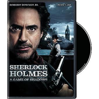 Sherlock Holmes: En Game of Shadows [DVD] USA importere