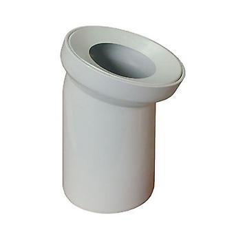 Blanc WC toilette eaux usées Pan connecteur tuyau 110mm coude