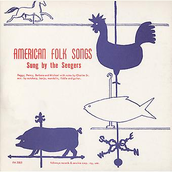 Seeger Family - American Folk Songs Sung by the Seegers [CD] USA import