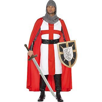 Crusader kostume korstog Knights of St. George kostume