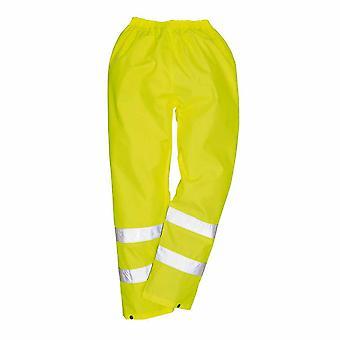 Portwest - Hi-Vis Safety Workwear Rain Waterproof Trousers