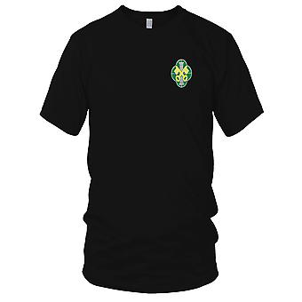US Army - 93 militärpolisen bataljonen broderad Patch - Mens T Shirt