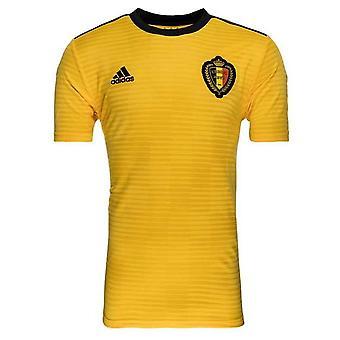 2018-2019 Belgium Away Adidas Football Shirt