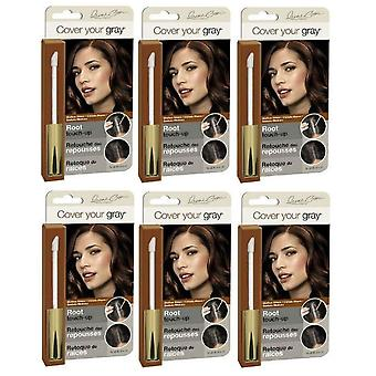 Cover Your Gray Root Touch-Up Medium Brown (3-Pack)