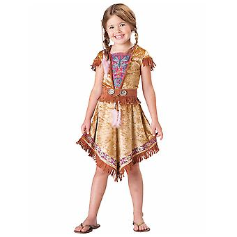 Indian Maiden Pocahontas Native American Toddler Girls Costume