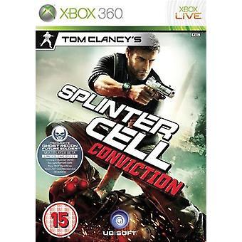 Tom Clancys Splinter Cell overtuiging (Xbox 360)-fabriek verzegeld