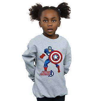 Marvel Girls kapitán Amerika prvý Avenger mikiny